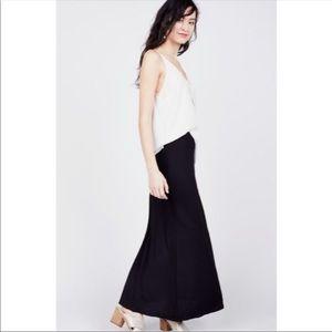 3/$25 Black Knit Jersey Maxi Skirt